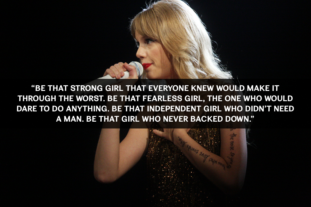 Fearless Taylor Swift Quote: 10 Inspirational Taylor Swift Quotes
