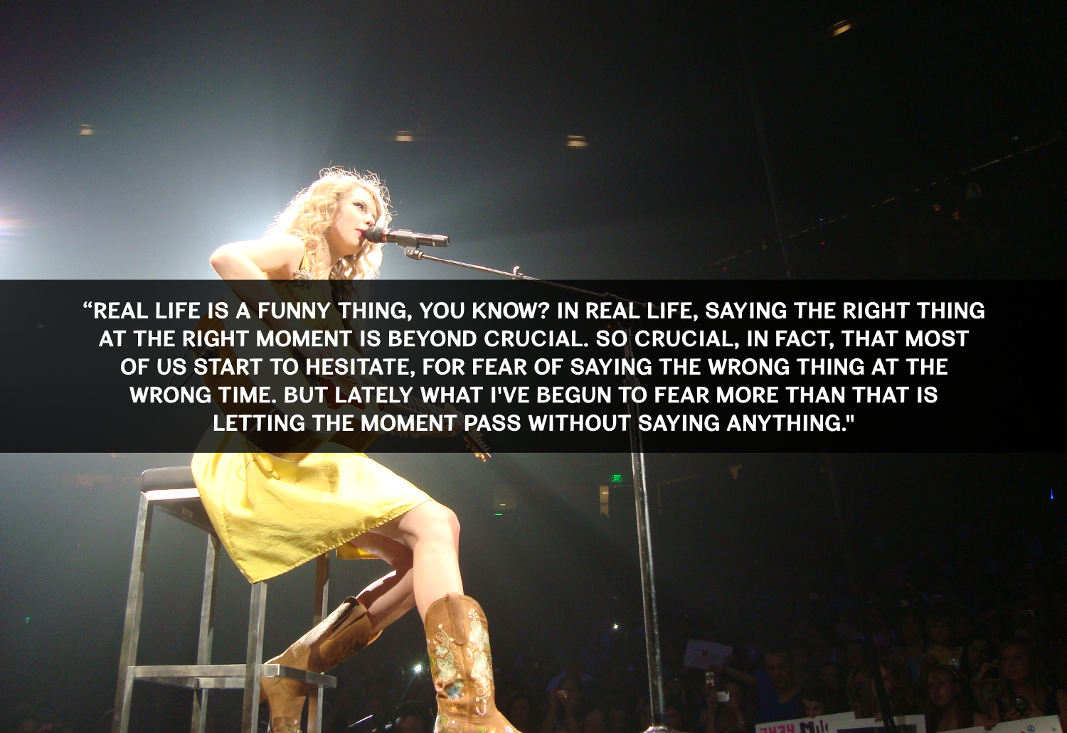 Inspirational Quotes Motivation: 10 Inspirational Taylor Swift Quotes