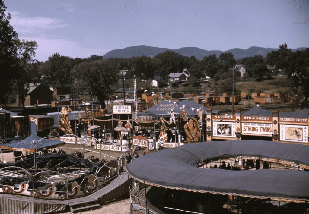 35 Awesome Historical Pictures of the Vermont State Fair