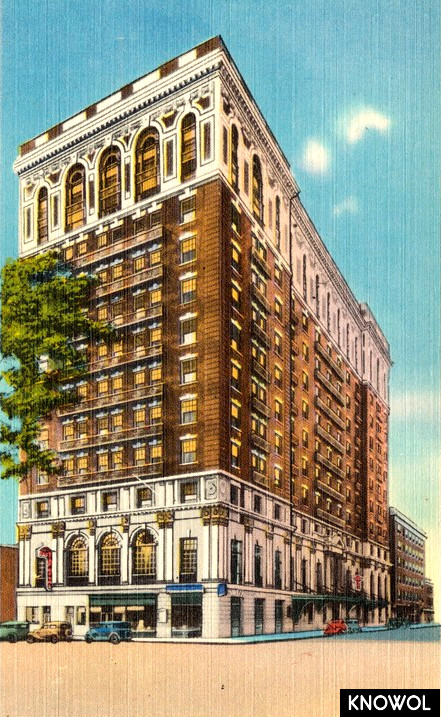Hotel Taft And Annex New Haven Conn