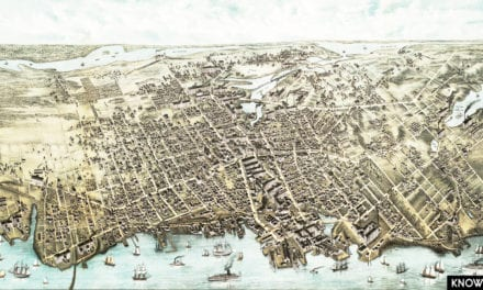 Amazing old map of Fall River, Massachusetts from 1877