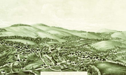 Stunning old map of Greenville, New Hampshire from 1886