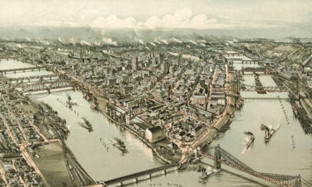 Beautifully restored map of Pittsburgh, PA from 1902