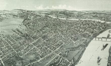 Historic map of Parkersburg, West Virginia from 1899