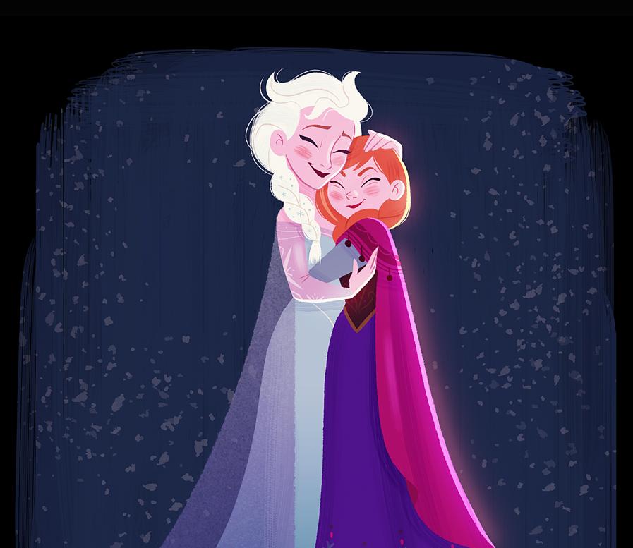 Disney Princess Quotes Cover Anna Elsa Knowol