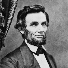 February 9, 1861: Ten days before visiting Bedell en route to his Inauguration.