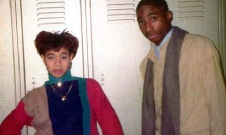 Tupac & Jada Pinkett Were High School Friends