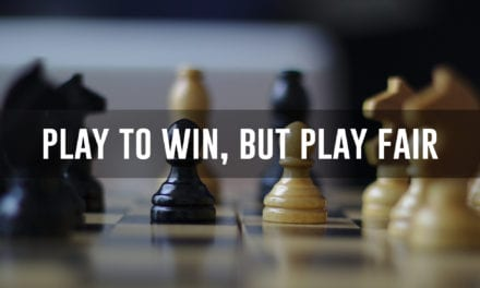 Play to win, but play fair