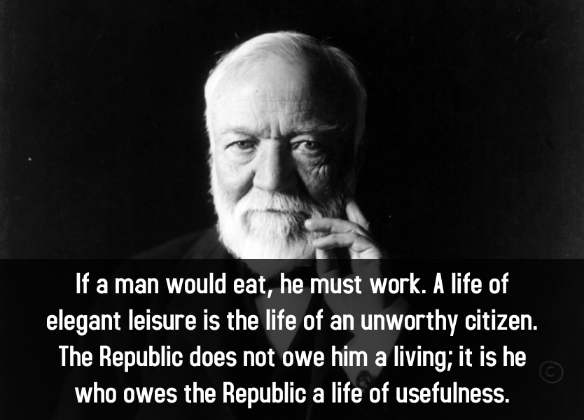 Andrew Carnegie explains the Republican idea - KNOWOL