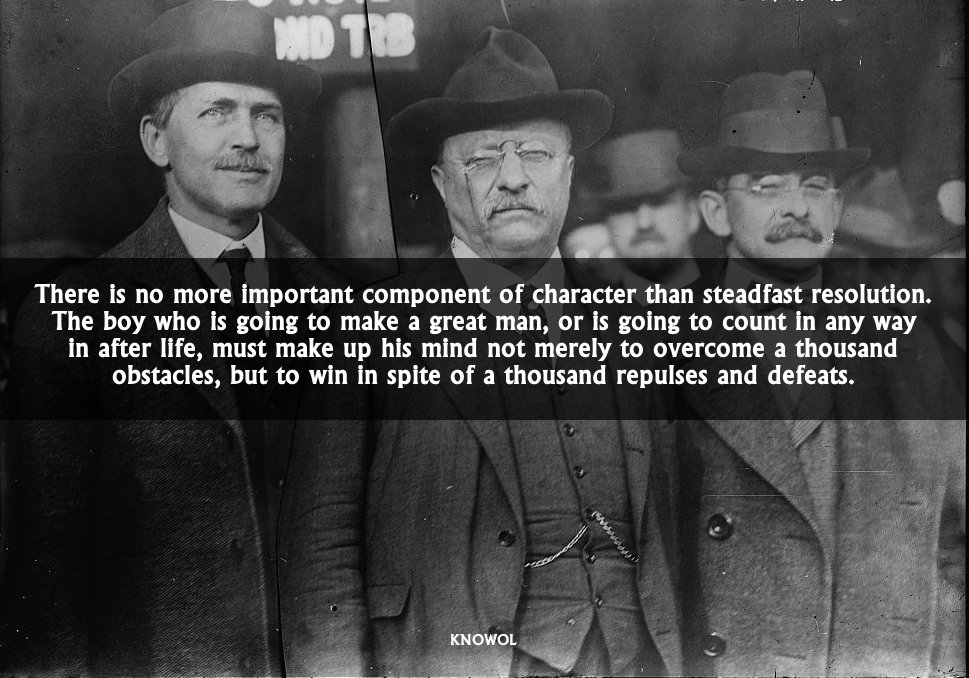 Teddy Roosevelt Quotes | 9 Motivational Quotes From Teddy Theodore Roosevelt Knowol