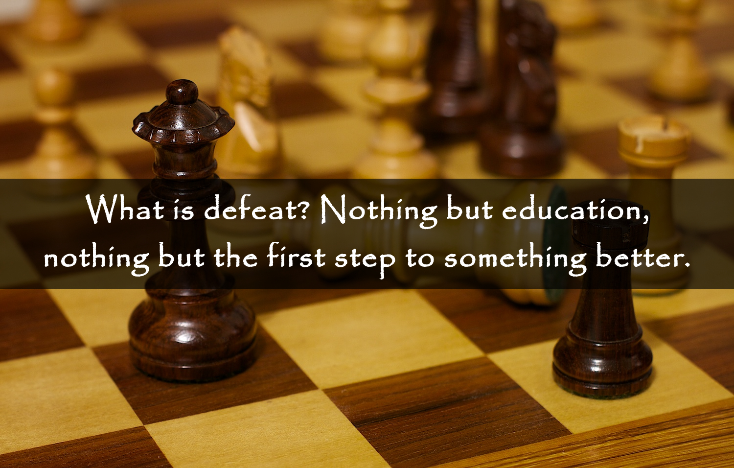 defeat-is-education-quote
