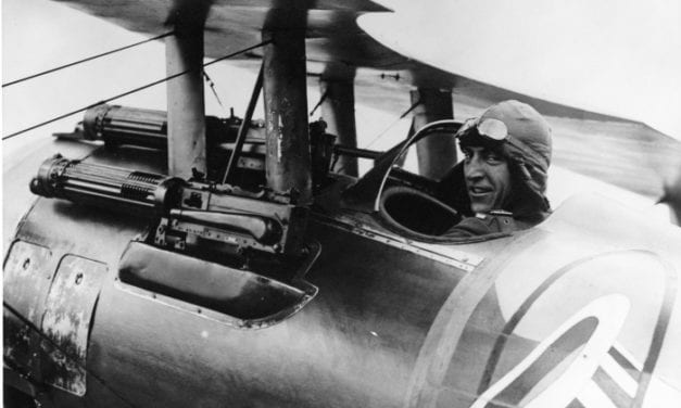 America's top WWI fighter pilot explains why you shouldn't fear death