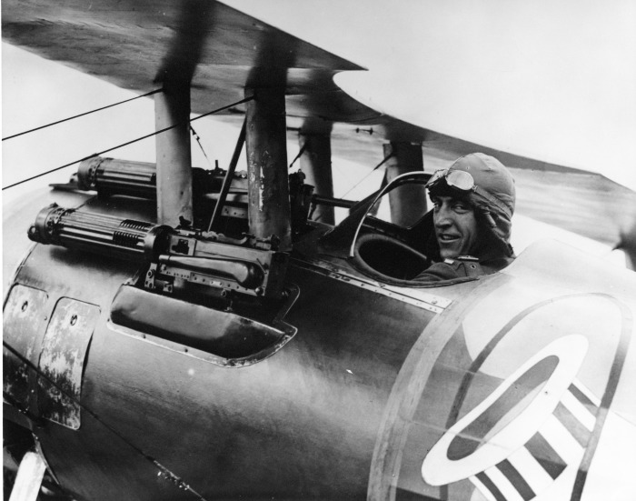 Top WWI fighter pilot explains why you shouldn't fear death