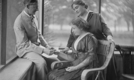 Helen Keller talks about the symbolism and purpose behind the human hand