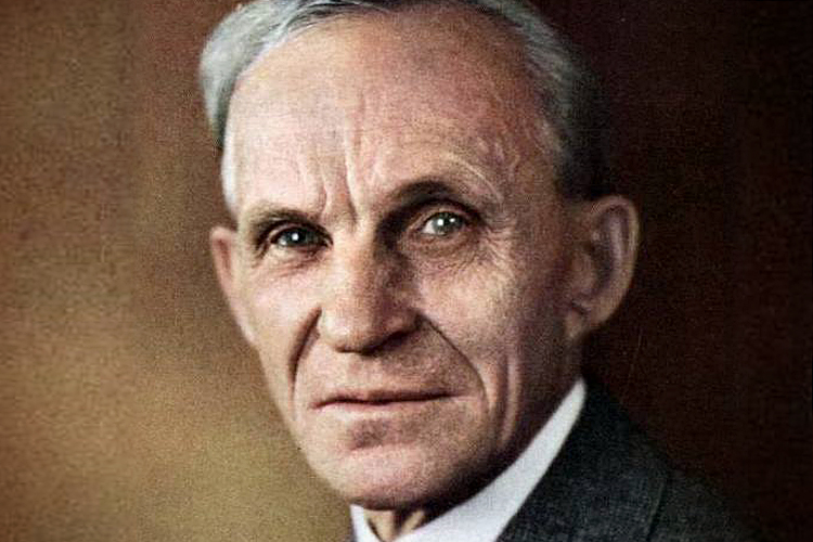 "Henry Ford: ""Look for the single spark of individuality that makes you different"""