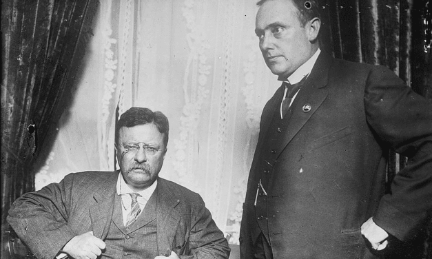"Theodore Roosevelt: ""Train yourself to be fearless"""