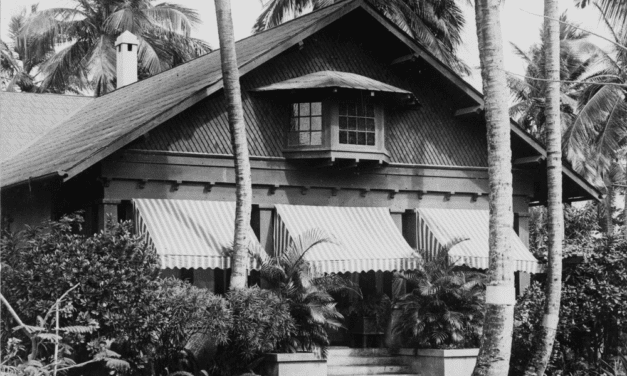 An Upper Class Home in the Suburbs of Puerto Rico, 1890