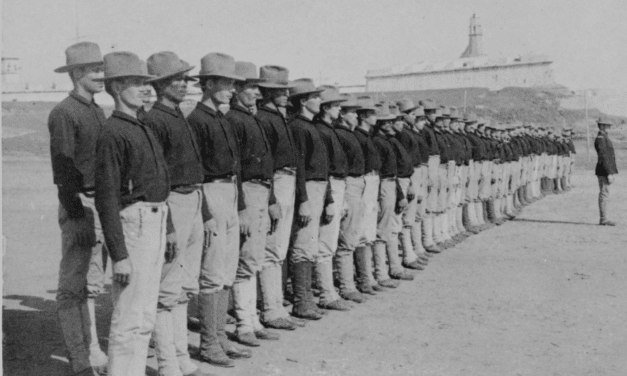 The first Puerto Rican troops to join the American Army in 1899