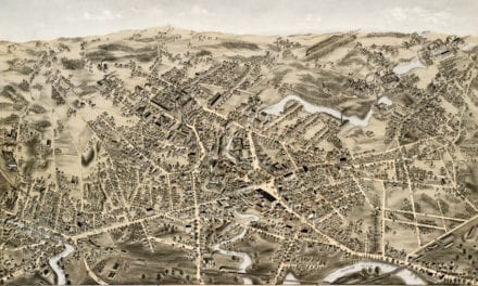 Amazingly detailed map of Taunton, MA from 1875