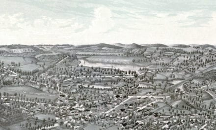 Vintage map of Northboro, Massachusetts from 1887