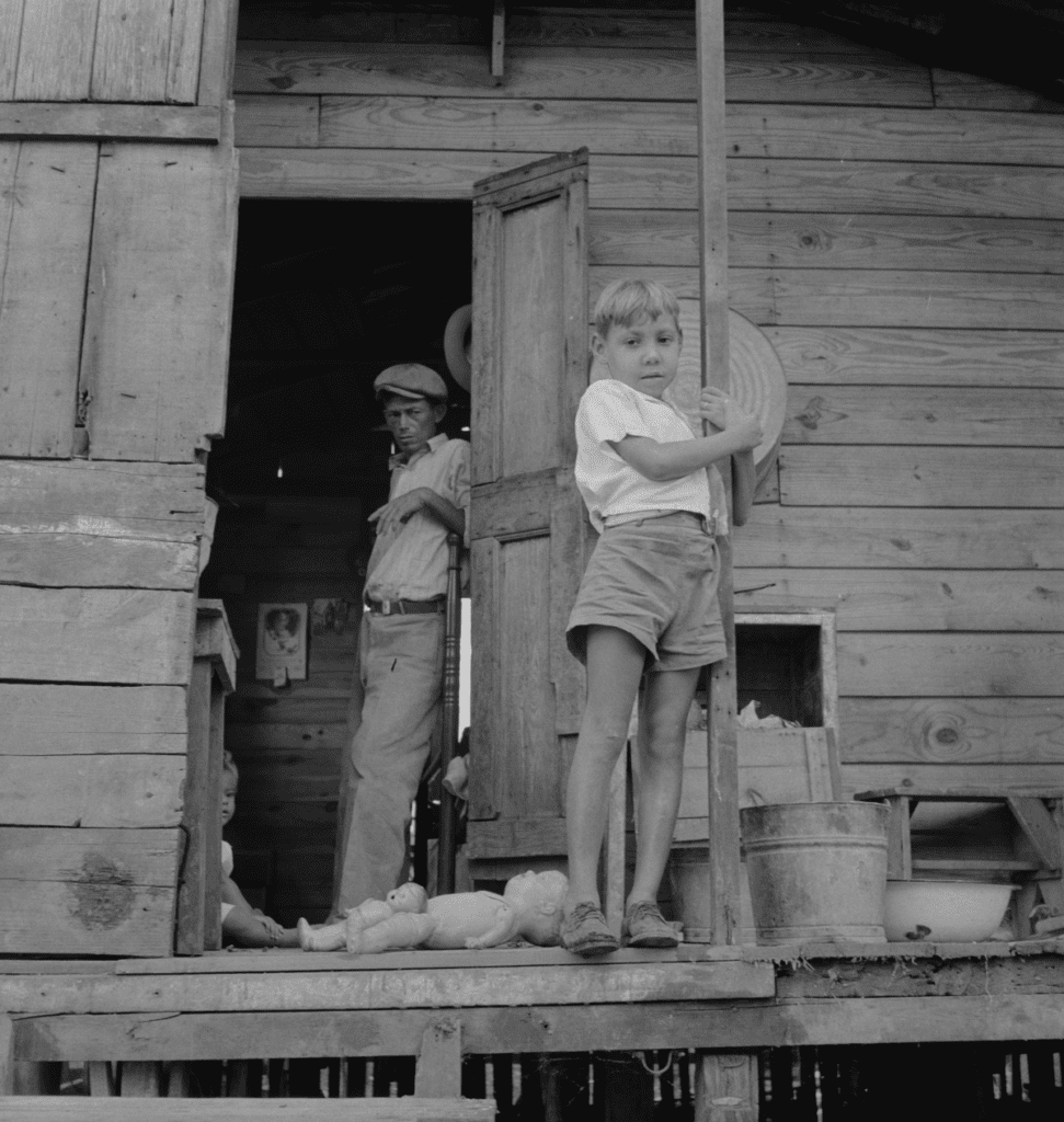 A boy and his father in San Juan Puerto Rico in 1941