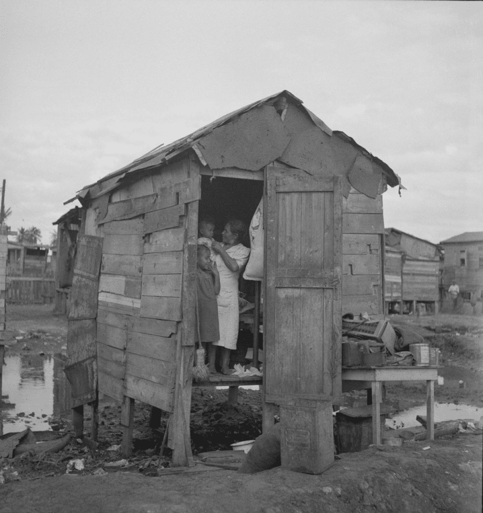 Typical Home in El Fangitto, San Juan Puerto Rico