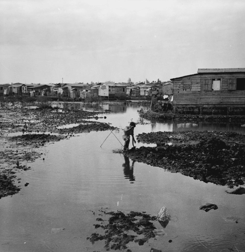 Boy in the mud of El Fangitto