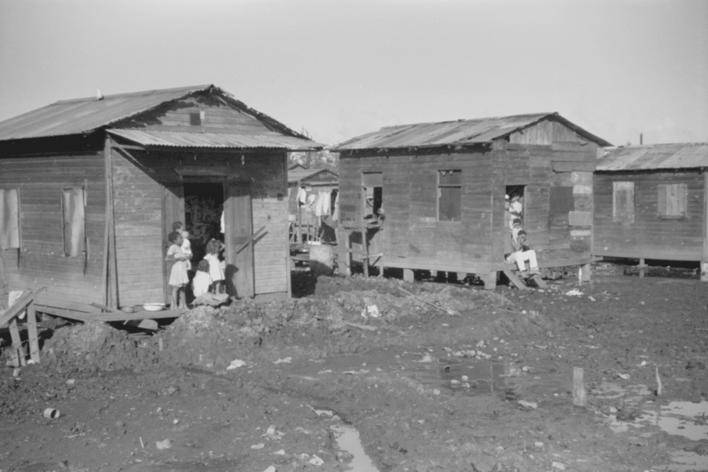 Two Houses in The Slums of El Fangitto