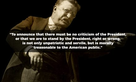 Theodore Roosevelt Discusses Criticism of the President