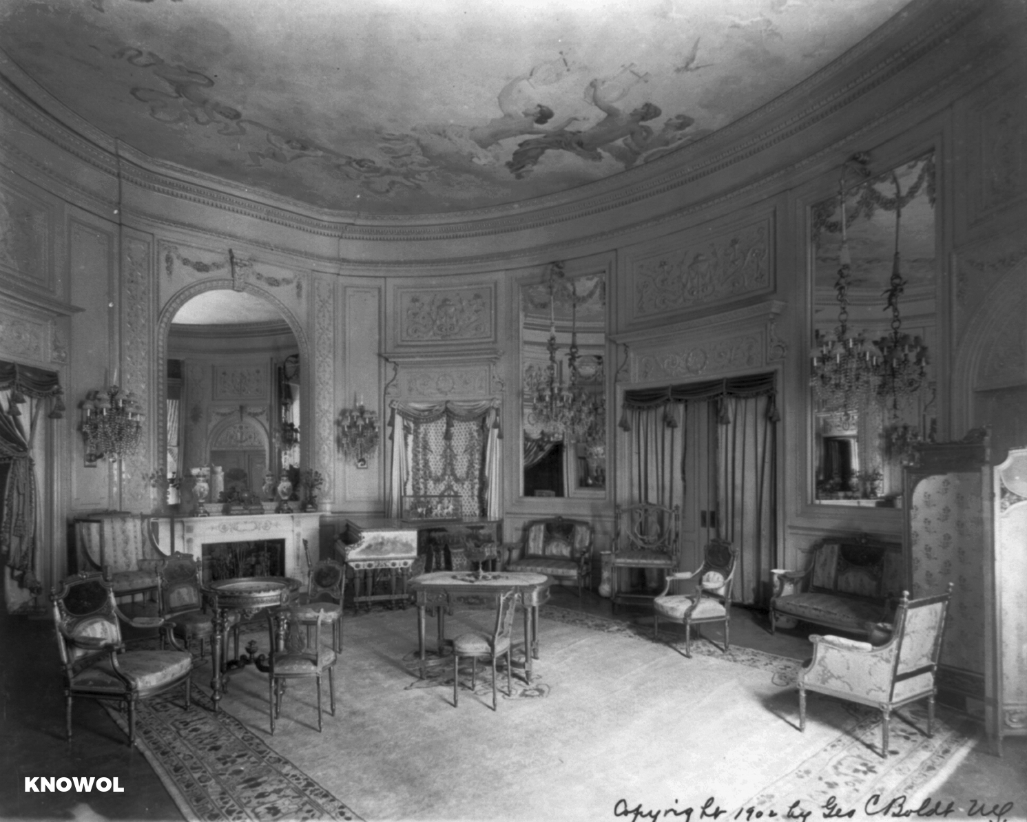 Here S What The Waldorf Astoria Looked Like In 1900 Knowol