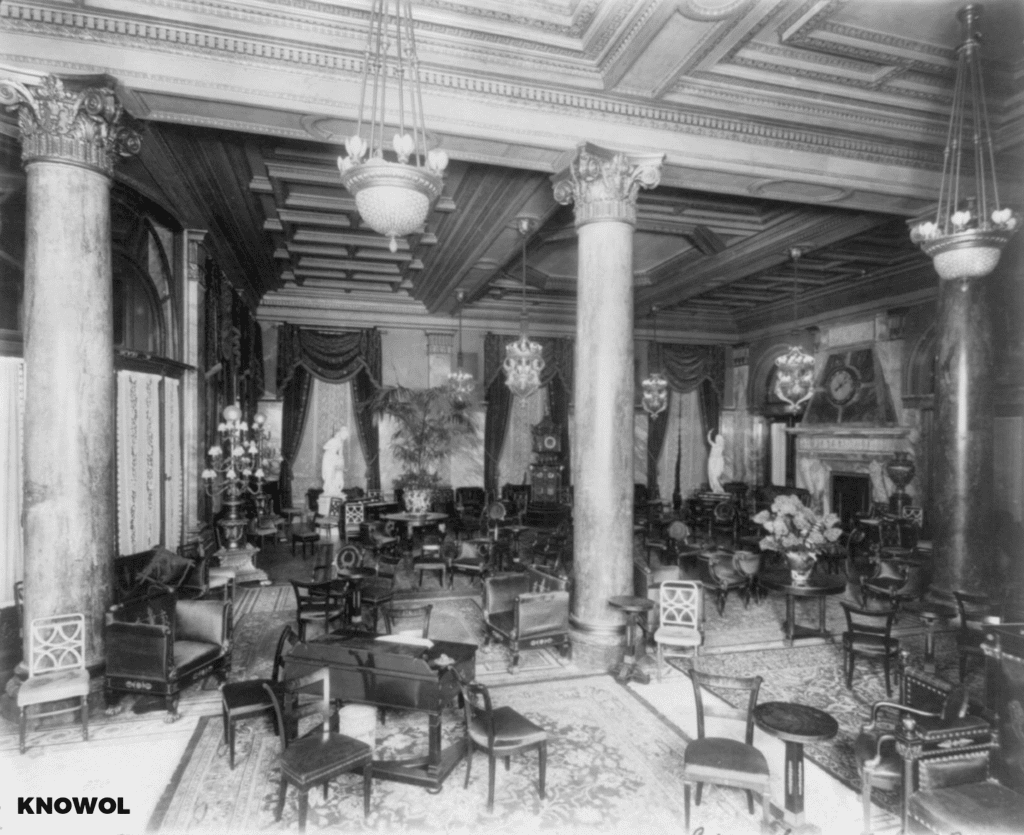Here 39 s what the waldorf astoria looked like in 1900 knowol for Waldorf astoria antiques