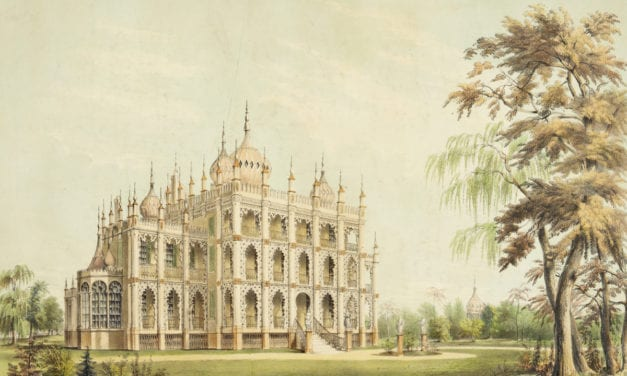 Iranistan, P.T. Barnum's lost palace located in Bridgeport, CT