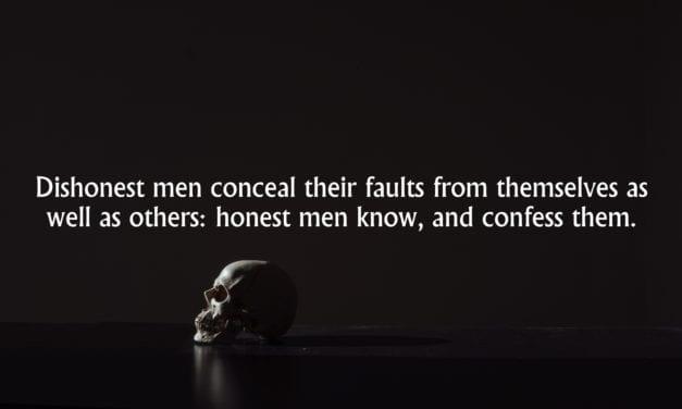 Dishonesty Conceals, Honesty Reveals