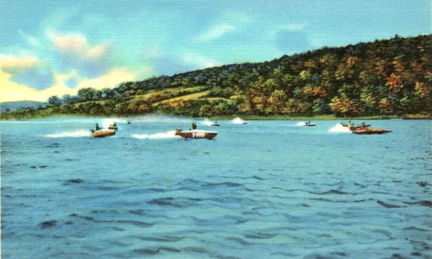 11 vintages images reveal the beauty of Connecticut's Candlewood Lake