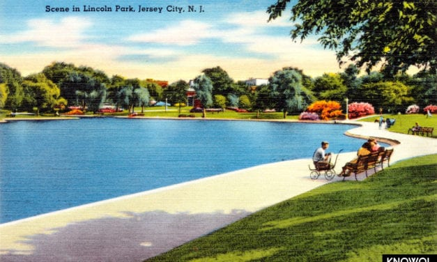 12 beautiful postcards from Jersey City's glory days