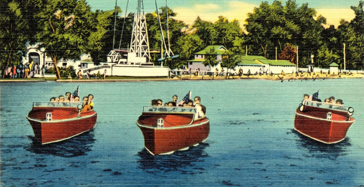 Lake Compounce in the 1950's, vintage images of CT's oldest amusement park