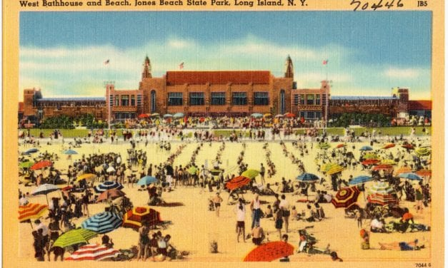 Reminiscing of happy summers at Jones Beach, Long Island in the 1950's