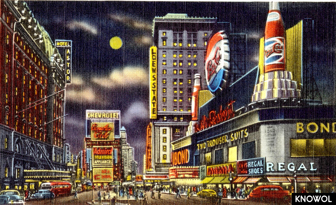 10 Wonderful Pictures Of Lost Times Square Landmarks Knowol