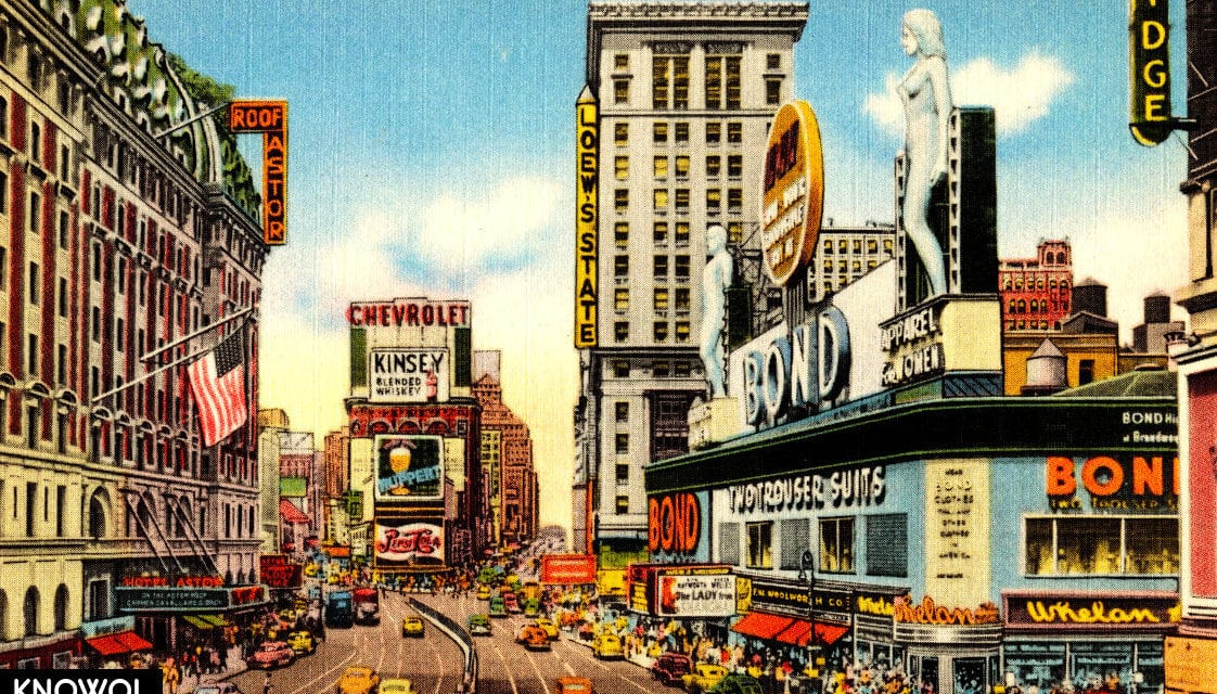 10 wonderful pictures of lost Times Square landmarks