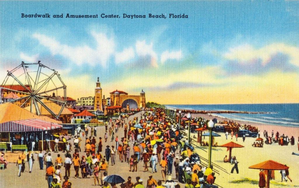 Boardwalk And Amut Center Daytona Beach