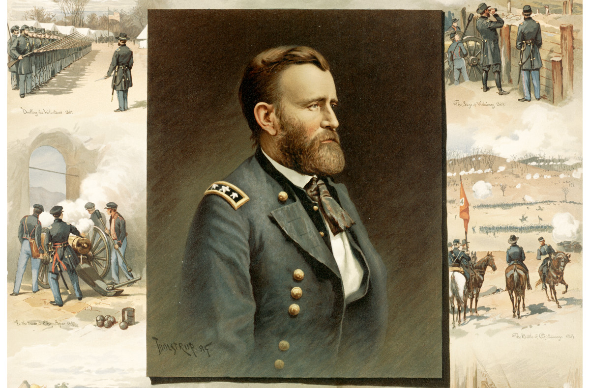 ulysses s  grant  from west point to appomattox