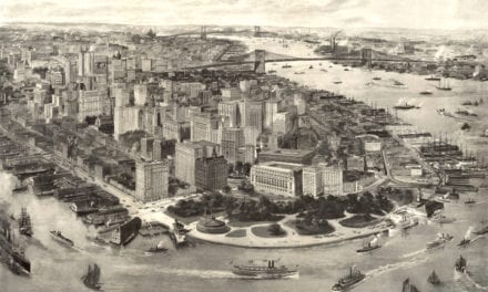 Amazingly detailed view of New York City in 1903