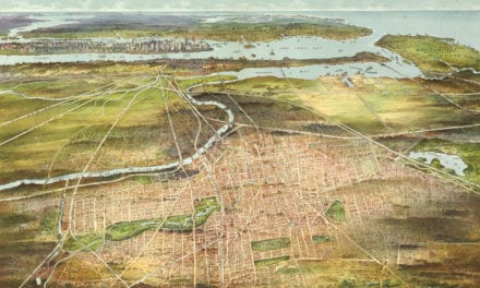 Amazing old map of Newark, New Jersey from 1916