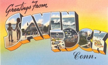 4 vintage images of Savin Rock Amusement Park in West Haven