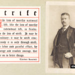 Theodore Roosevelt's motivational quote on strife and struggle