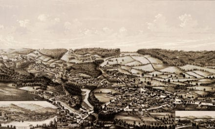 Vintage Map of Alton New Hampshire in 1888