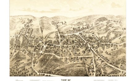 Beautiful vintage map of Bethel, CT from 1879