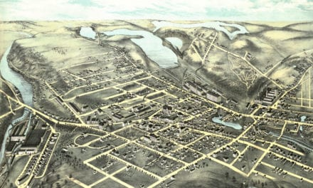 Beautiful old map of Clinton, Massachusetts from 1876