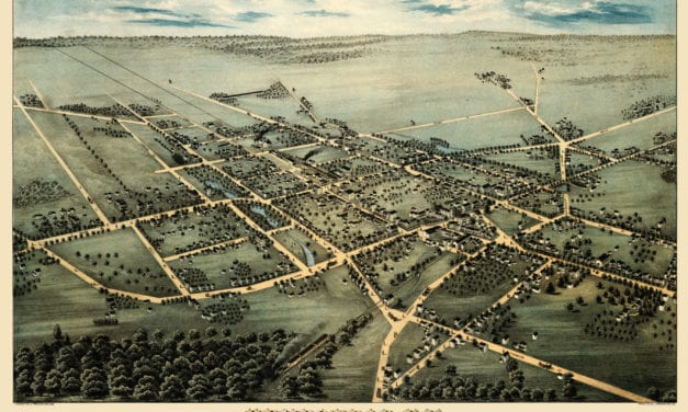 Amazing map showing Hempstead, New York in 1876