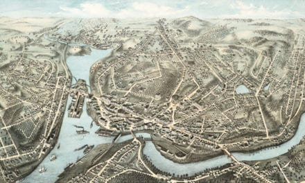 Wonderful old map of Norwich, CT from 1876